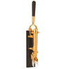BOJ 24k Gold, Ebony-Backed Wall-Mounted Corkscrew (Limited Edition) - BOJpro.com