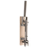 BOJ Professional Natural Color, Oak-Backed Wall-Mounted Corkscrew Wine Opener, Model 110 - BOJpro.com 10465