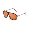 OCEAN Sunglasses BOJpro model BAI 15200.12 Frame Demmy Brown & Lens Brown Clear