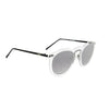 OCEAN Sunglasses BOJpro model BERLIN 20.27 Frame Transparent White & Lens Smoke