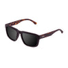 OCEAN Sunglasses BOJpro model BIDART 30.8 Frame Crystal Black & Lens Smoke