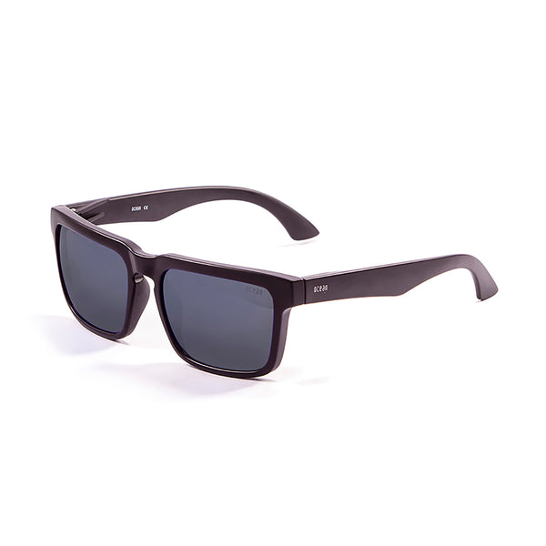 OCEAN Sunglasses BOJpro model BOMB 17202.0 Frame Matte Black & Lens Smoke