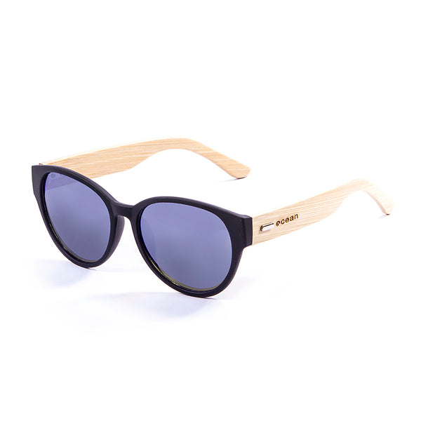 OCEAN Sunglasses BOJpro model COOL 51000.1 Frame Black & Lens Smoke