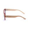 OCEAN Sunglasses BOJpro model COOL 51000.3 Frame Bamboo Brown & Lens Smoke