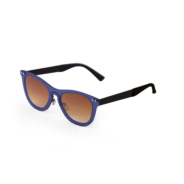 OCEAN Sunglasses BOJpro model FLORENCIA 24.15 Frame Transparent Dark Blue & Lens Transparent Gradient Brown