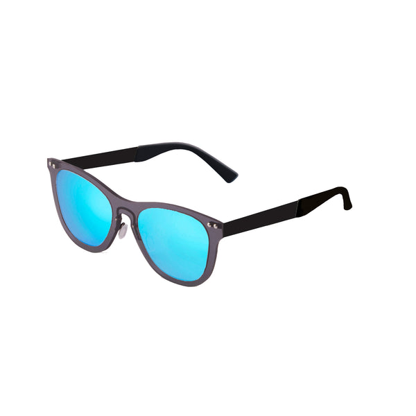 OCEAN Sunglasses BOJpro model FLORENCIA 24.18 Frame Transparent Black & Lens TransparentBlue Sky