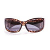 Ocean sunglasses model fuerteventura 1112.2 with demy brown frame and smoke lens polarized eyewear for water sports