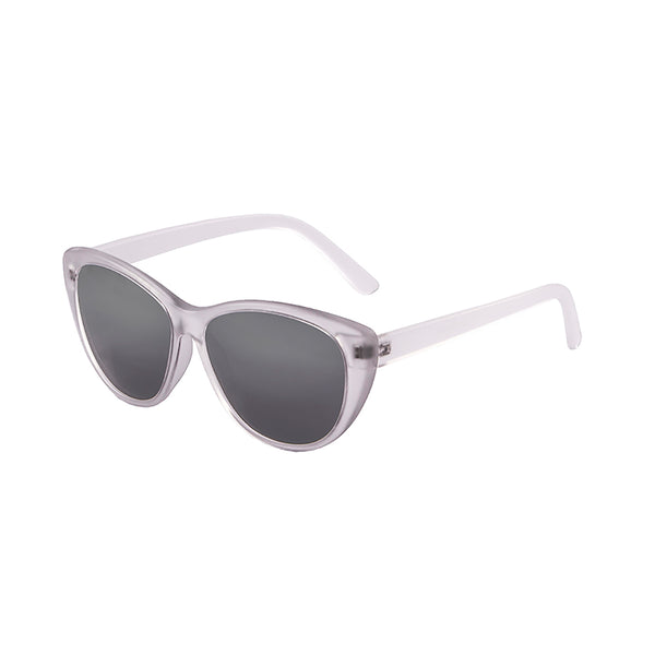 OCEAN Sunglasses BOJpro model HENDAYA 57000.0 Frame White Transparent & Lens Smoke