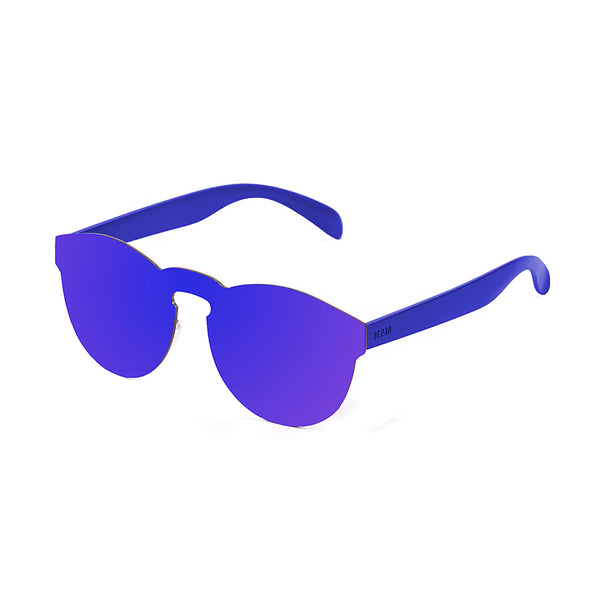 OCEAN Sunglasses BOJpro model IBIZA 21.2 Frame Space Dark Blue & Lens Space Dark Blue