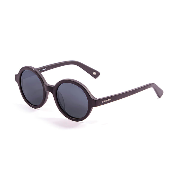 OCEAN Sunglasses BOJpro model JAPAN 4000.1 Frame Matte Black & Lens Smoke