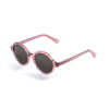 OCEAN Sunglasses BOJpro model JAPAN 4000.96 Frame Ginger Transparent & Lens Smoke