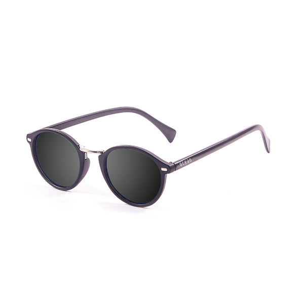 OCEAN Sunglasses BOJpro model LILLE 10300.3 Frame Matte Black & Lens Smoke