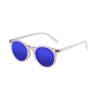 OCEAN Sunglasses BOJpro model LIZARD 72001.0 Frame Shiny White & Lens Blue