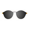 OCEAN Sunglasses BOJpro model LOIRET 10307.7 Frame Matte Light Brown & Lens Smoke Flat