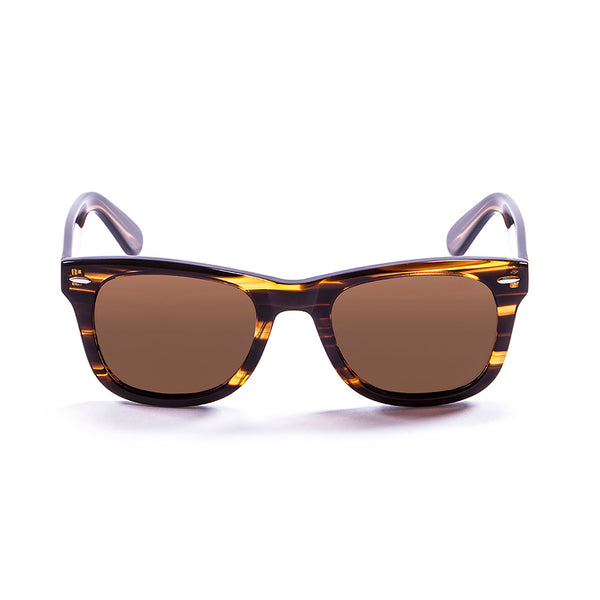 OCEAN Sunglasses BOJpro model LOWERS 59000.3 Frame Brown & Lens Brown