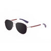 OCEAN Sunglasses BOJpro model SAN REMO WOOD 18110.13 Frame White & Lens Smoke