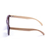 OCEAN Sunglasses BOJpro model SEA WOOD 57002.2 Frame Earth Brown & Lens Green