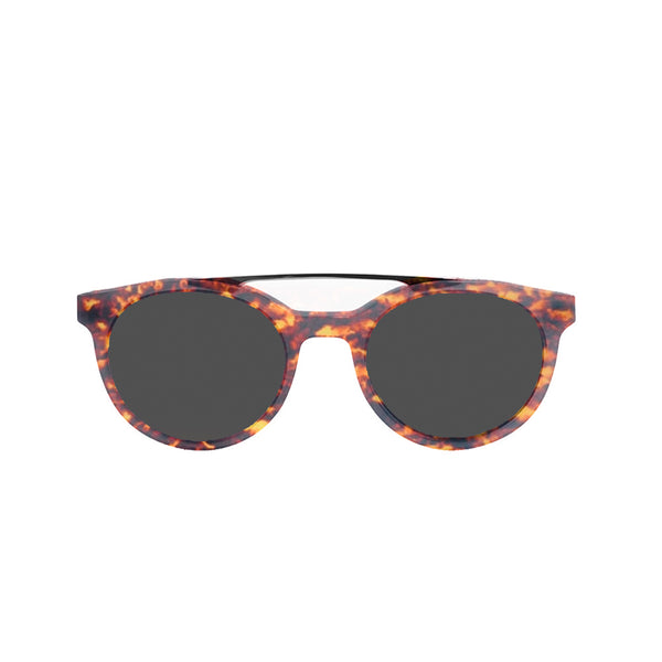 OCEAN Sunglasses BOJpro model TIBURON 10200.8 Frame Shiny Brown & Lens Smoke