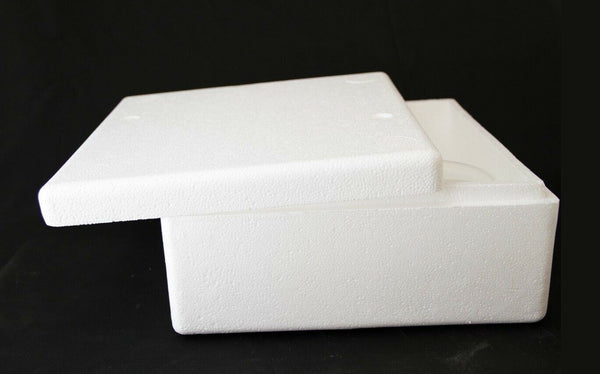 Insulated Shipping Container Styrofoam Cooler USPS Medium Flat Rate Box - BOJpro.com