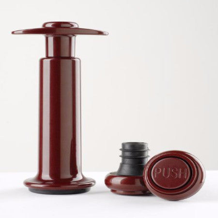 360-Wine Saver Vacuum Wine Pump with 2 Stoppers-byBOJ