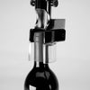 360-BOJ Gold Wall-Mounted Corkscrew with wood backing made of ebony (24 karat Gold Limited Edition)-byBOJ