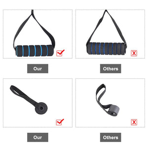 11 Pieces Fitness Resistance Bands Home Strength Workout
