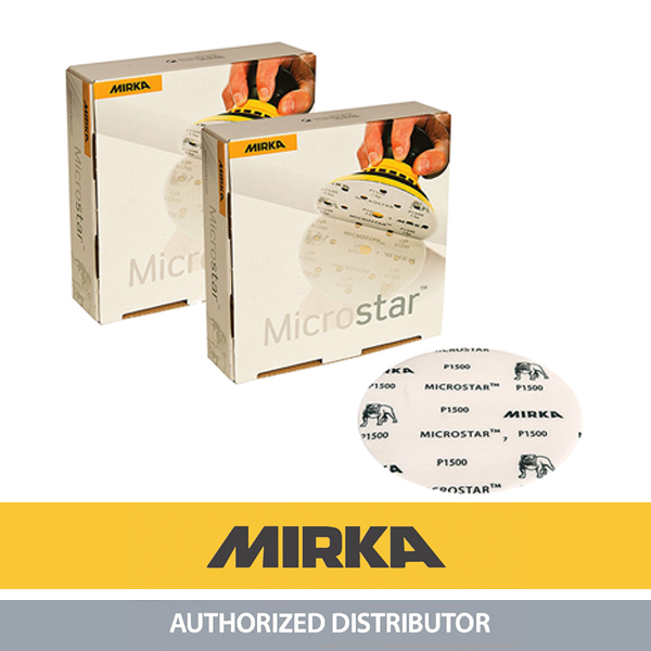 "Mirka Microstar Disc 6"" (Box of 50)"