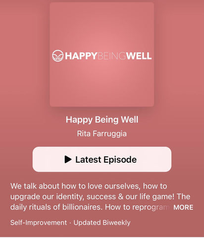 Happy Being Well Podcast on Apple