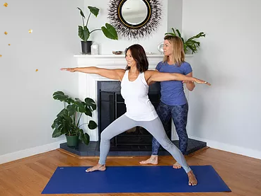 megan gathers private yoga instructor in san Francisco