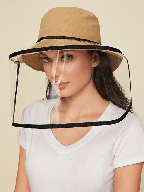 Clear Detachable Face Shield