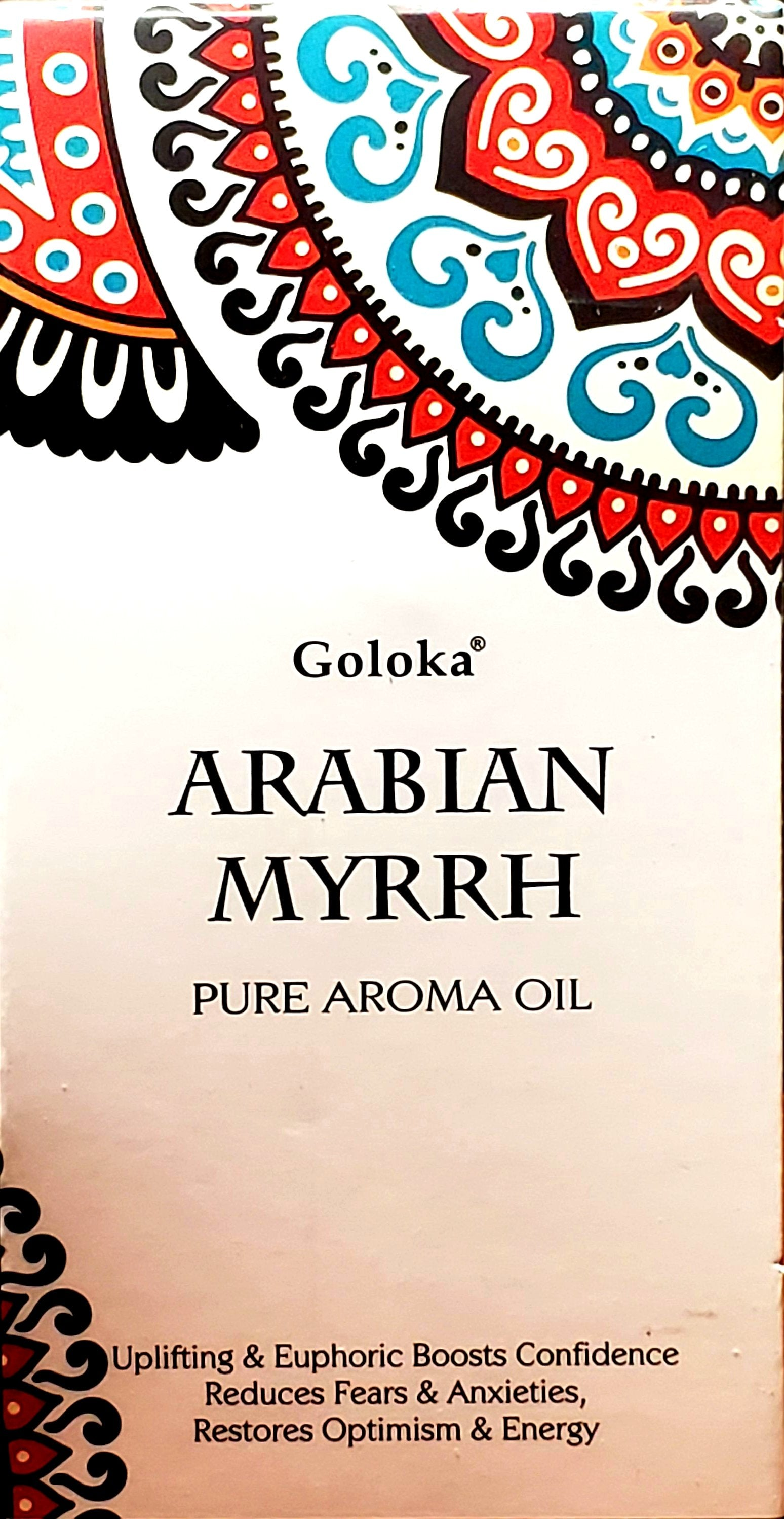 Goloka Natural Aromatherapy Oils | 10 ml Bottle | For Diffuser