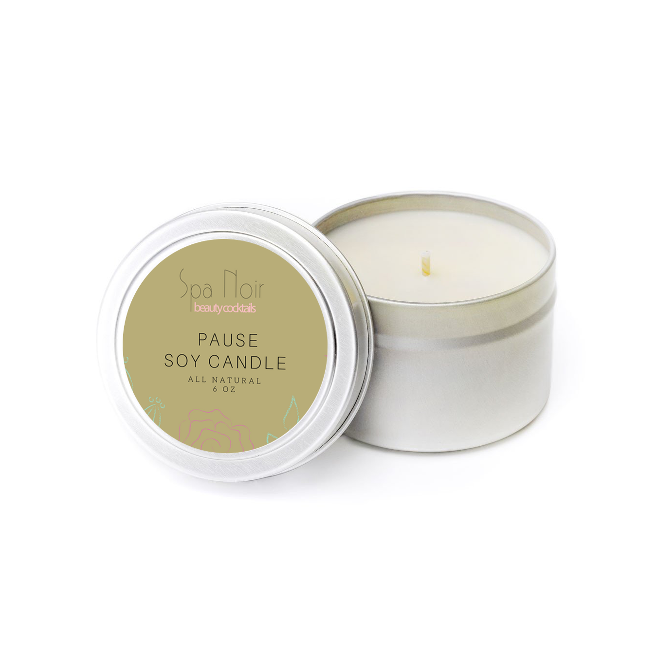 Pause Aromatherapy Candle