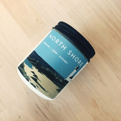 North Shore Vegan Scented Soy Candle