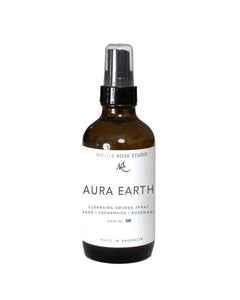 Aura Earth Sage Cleansing Smudge Spray