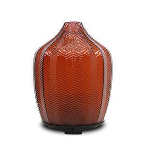 Dark Red Glass Ultrasonic Aroma diffusers