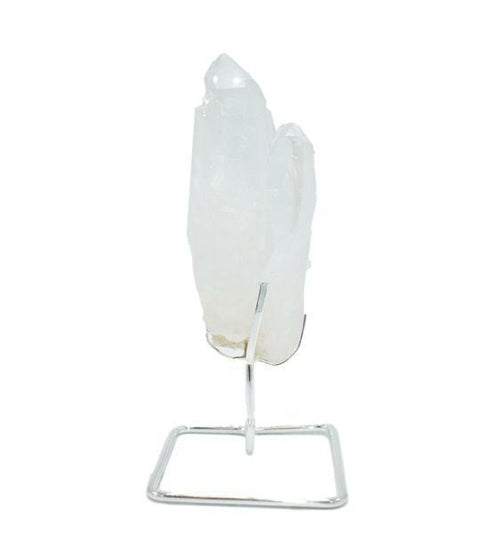 Quartz Point on Wire Stand