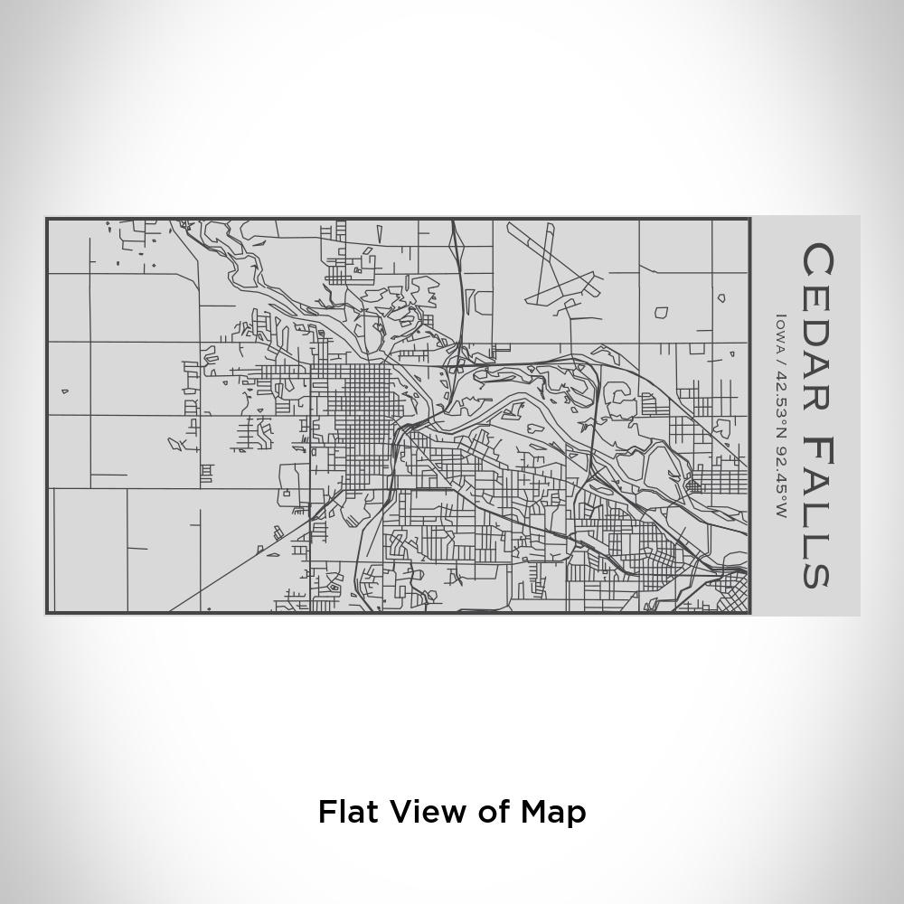Cedar Falls - Iowa Map Insulated Bottle