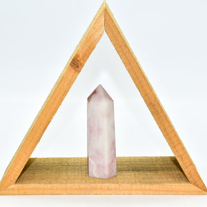 Pink Opal Crystal Point