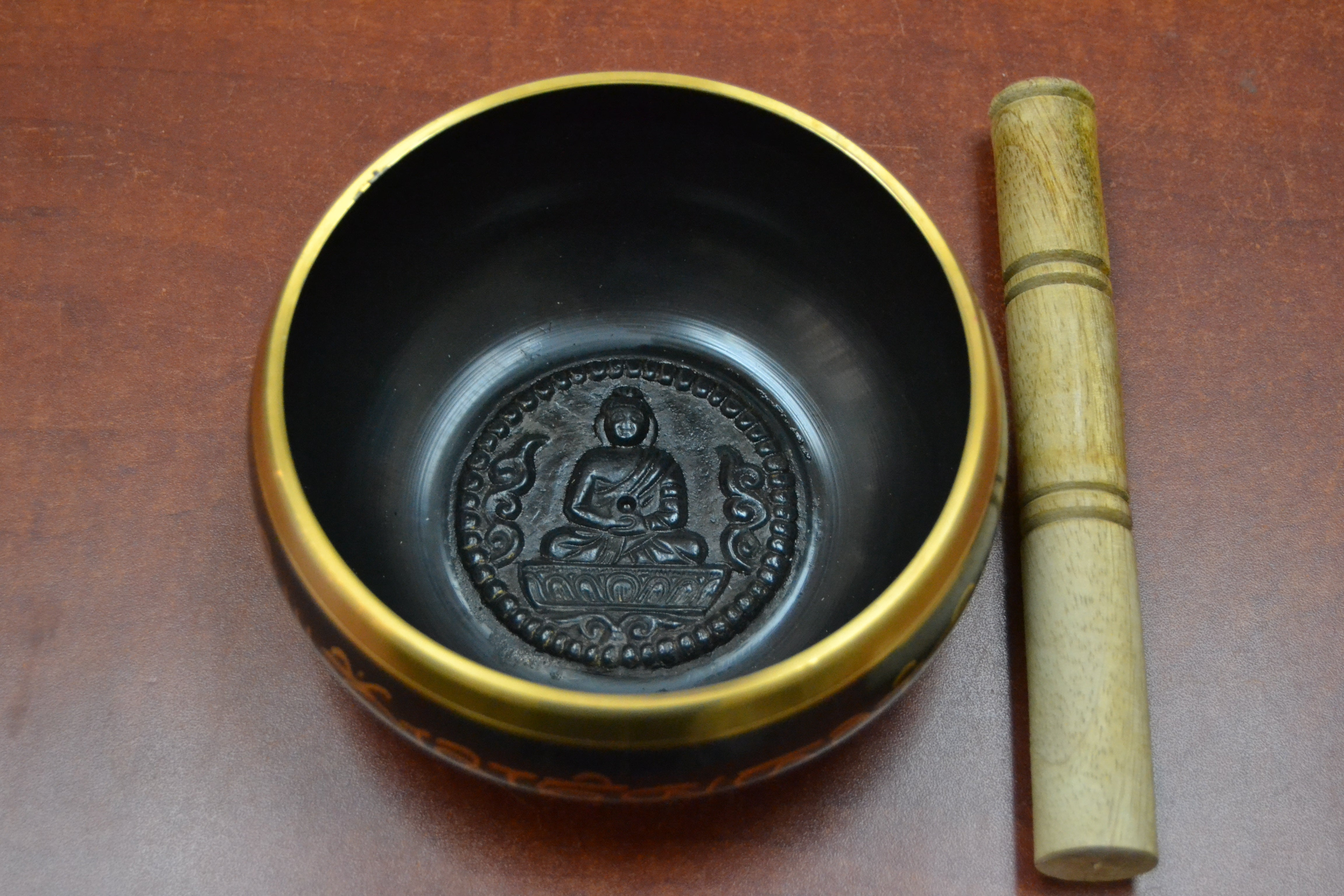 Handmade Nepal Tibetan Buddhist Brass Singing Bowl
