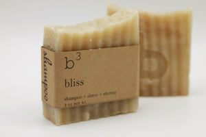 B3 Shampoo Bar - Bliss Almond & Coconut