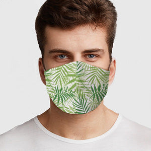 Palm Leaves Face Cover