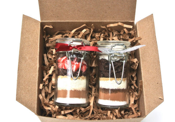 Gourmet Hot Chocolate Gift Set, 2 Mini Hot Cocoa