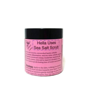 Organic Hella Uses Sea Salt Scrub