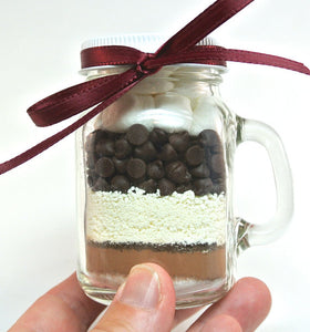 Mason Mug Hot Chocolate Mix, 4 oz Mason Jar