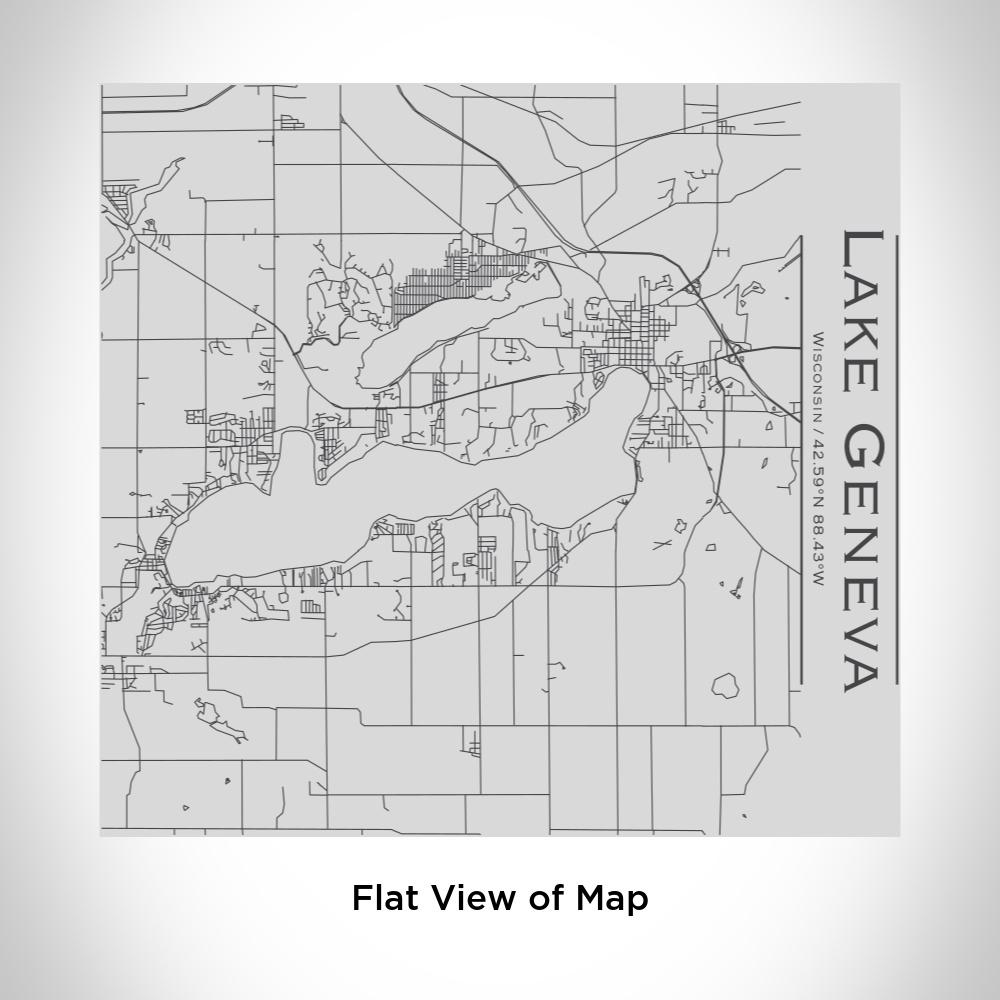 Lake Geneva - Wisconsin Map Tumbler