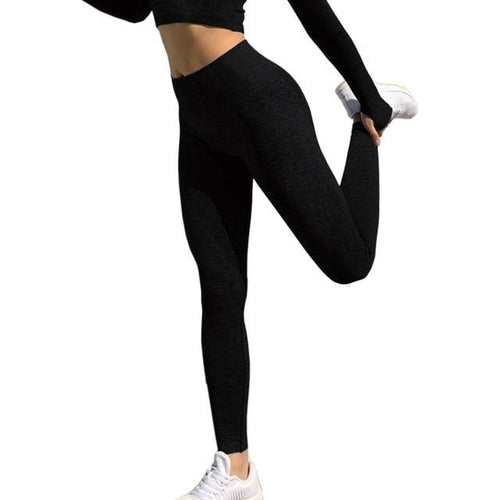 Women Fitness Running Yoga Pants Energy Seamless Leggings Gym Girl