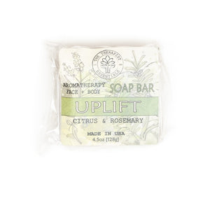 Aromatheraphy Uplift Citrus & Rosemary Face & Vegan Body Soap