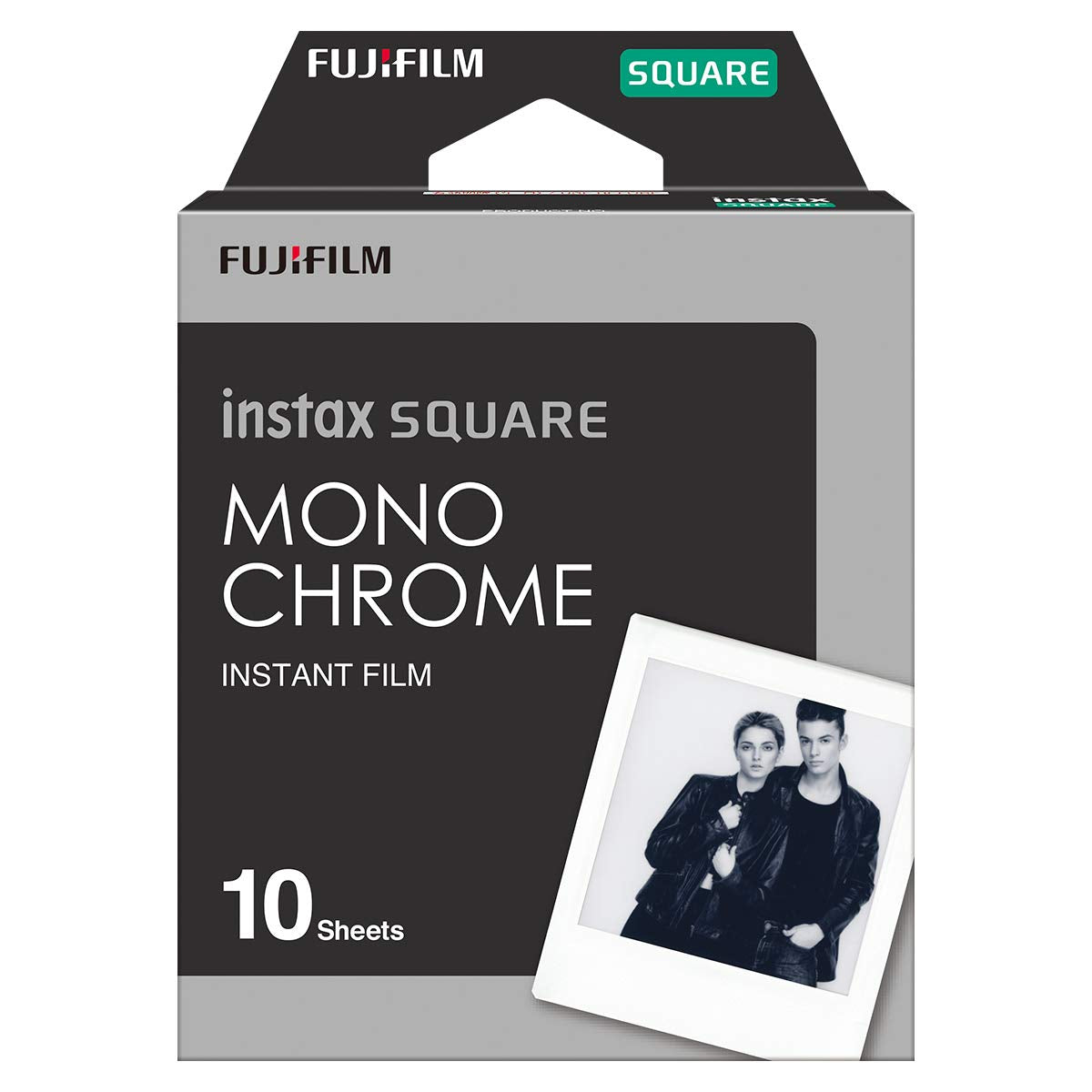 Instax Square Film 10ks Monochrome