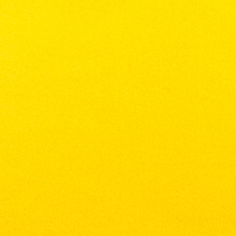 1 mm Wool Felt - Sunshine Yellow - 20 x 30 cm