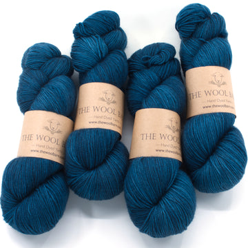 Cashmere Sock - Deep Water - 1 skein